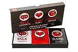 Lustiges und Romantisches Spiel für Paare: Karten-Set mit Konversationsstartern, Flirtspielen und coolen...
