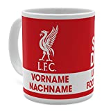PhotoFancy Tasse Liverpool mit Namen personalisiert - Design Liverpool FC Eat Sleep Drink