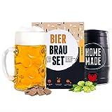 Männergeschenk Bierbrauset zum selber brauen | Festbier im 5 Liter Fass | In 7 Tagen gebraut | Tolles...