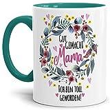 Tasse mit Spruch für Mama - Danke - Kaffee-Tasse/Geschenk-Idee Muttertag Geburtstag/Muttertagsgeschenk/Für...
