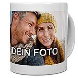 PhotoFancy® - Tasse mit Foto Bedrucken Lassen - Fototasse Personalisieren – Kaffeebecher zum selbst...