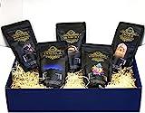 Edles Und Hochwertiges Geschenkset - Fünf Exklusive Kaffeeraritäten Inkl. Kopi Luwak (Katzenkaffee Von...