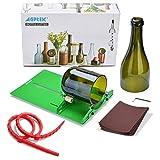AGPTEK Flaschenschneider Glasschneider für Flaschen Edelstahl Glas Verstellbare Bottle Cutter für DIY...